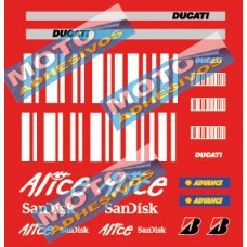 Kit Adhesivos Ducati Alice