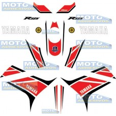 Kit Adhesivos réplica Yamaha R125 50th 2012